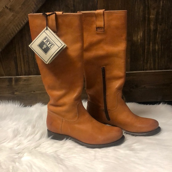 Frye Shoes - FRYE Jenna Inside Zip Tall Leather Boots